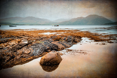 Loch Creran Textures