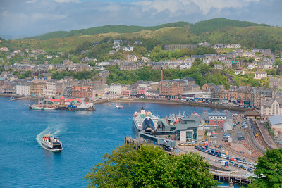 Oban from Pulpit Hill