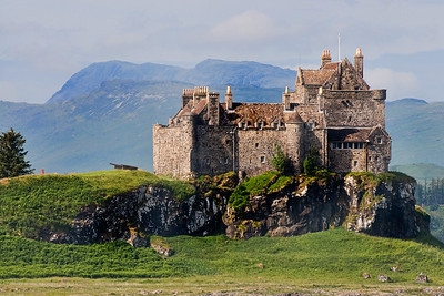 Duart Castle on the Isle of Mull
