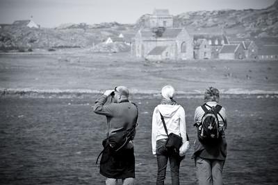 Iona Tourists
