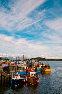 Atlantic Sky over Oban