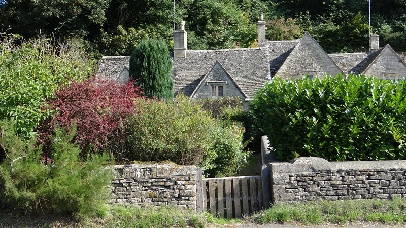 Bibury, the Cotswolds, UK