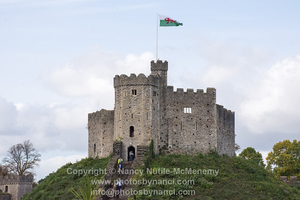 Cardiff to Bath, Cardiff Castle