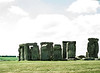 Green Fields at Stonehenge, Amesbury, England