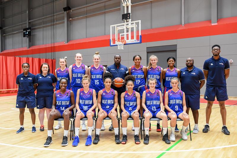 Great Britain U16 Girls Camp 2018