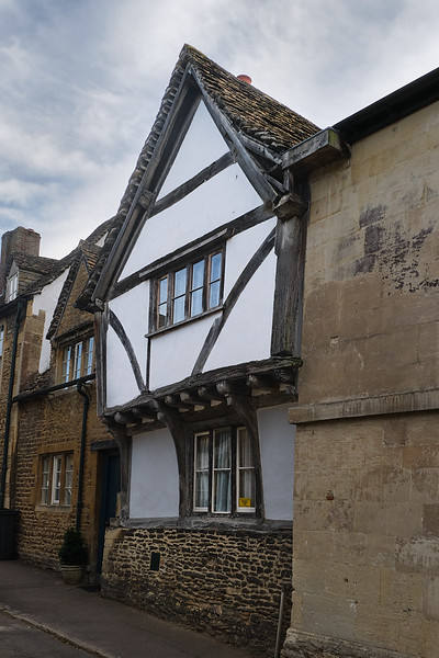 Streets of Old City of Lacock