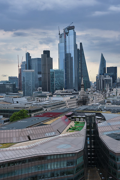 View on London from St. Paul's Cathedral
