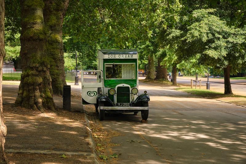 Ice Cream Truck in Hyde Park