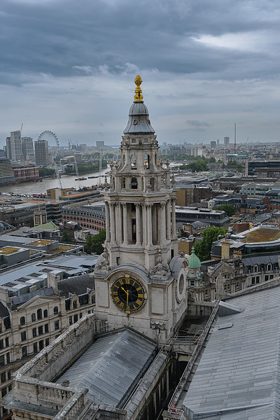 St Paul's Cathedral Clock Tower