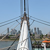 View of City of London from Clipper Cutty Sark