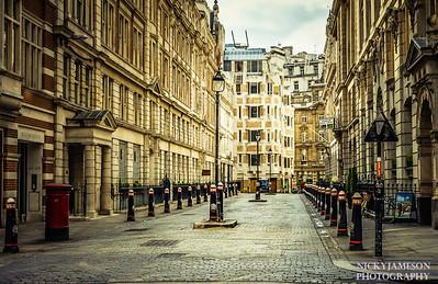 Quiet Street in Bishopsgate