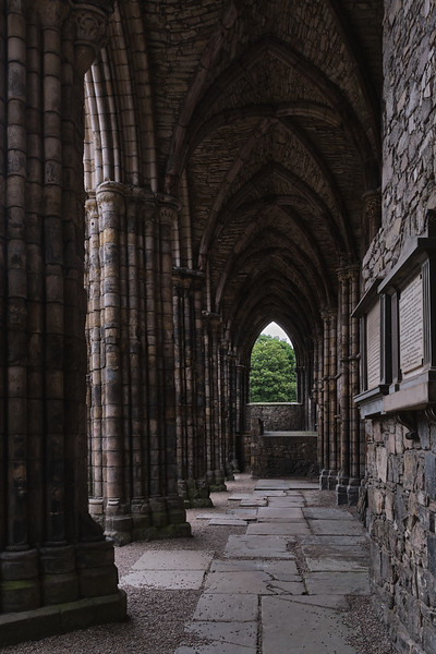 Nave of Holyrood Abbey