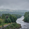 Dam on River Tummel
