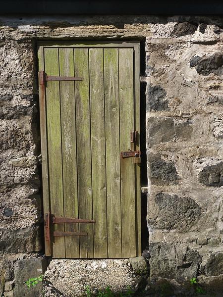 Greenish Door