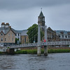 Bridge over River Ness in Inverness