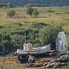 Old Boat During Low Tide