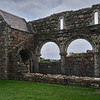 Arches of Iona Nunnery
