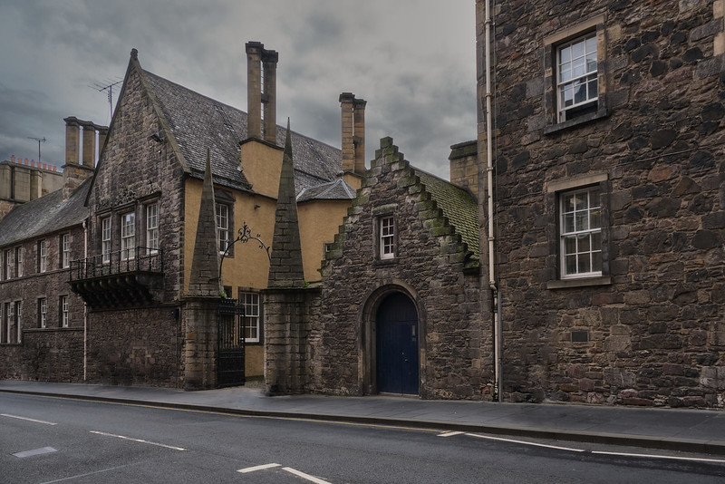 Street in Harry Potter Style