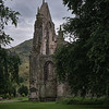 Holyrood Abbey and King Arthur Seat
