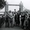 London, Tower Bridge, 1953