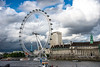 The London Eye on a Stormy Day