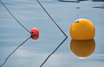 Mooring buoy reflections