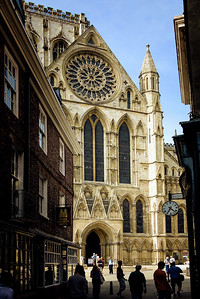 Richards___The Entrance to Munster Cathedral in York England