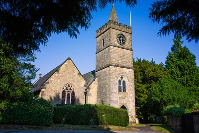Richards___An old stone church in Petworth England