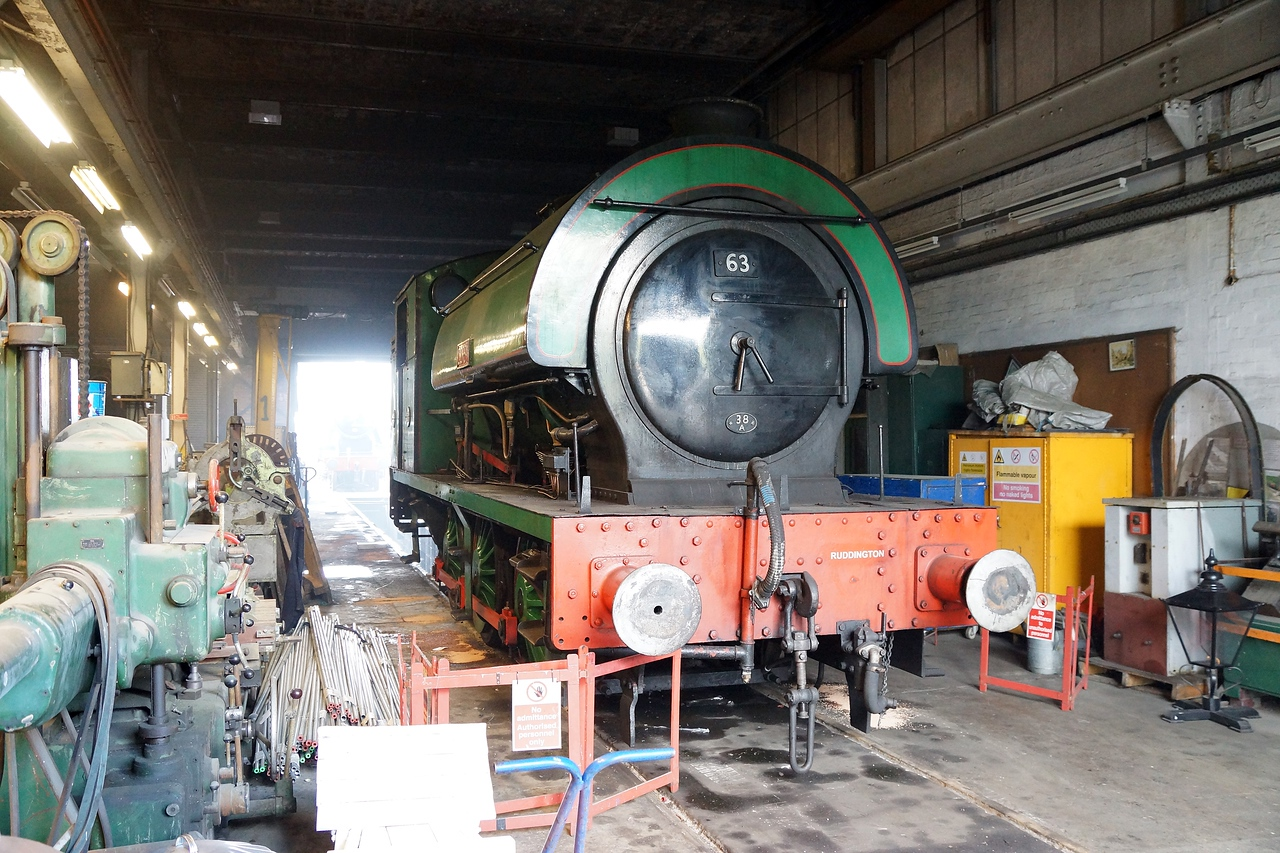 ST 7761 (Corby) RSHN 0-6-0ST 25,04,2015
