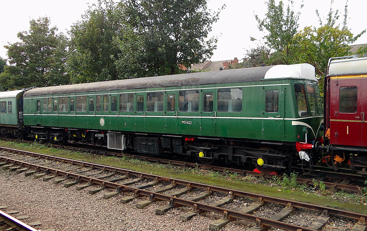 BR 51622 DMU Driving Motor Brake Second 20,10,2012