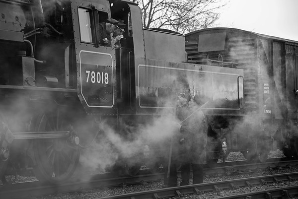Great Central Railway - Wednesday 31st January 2018