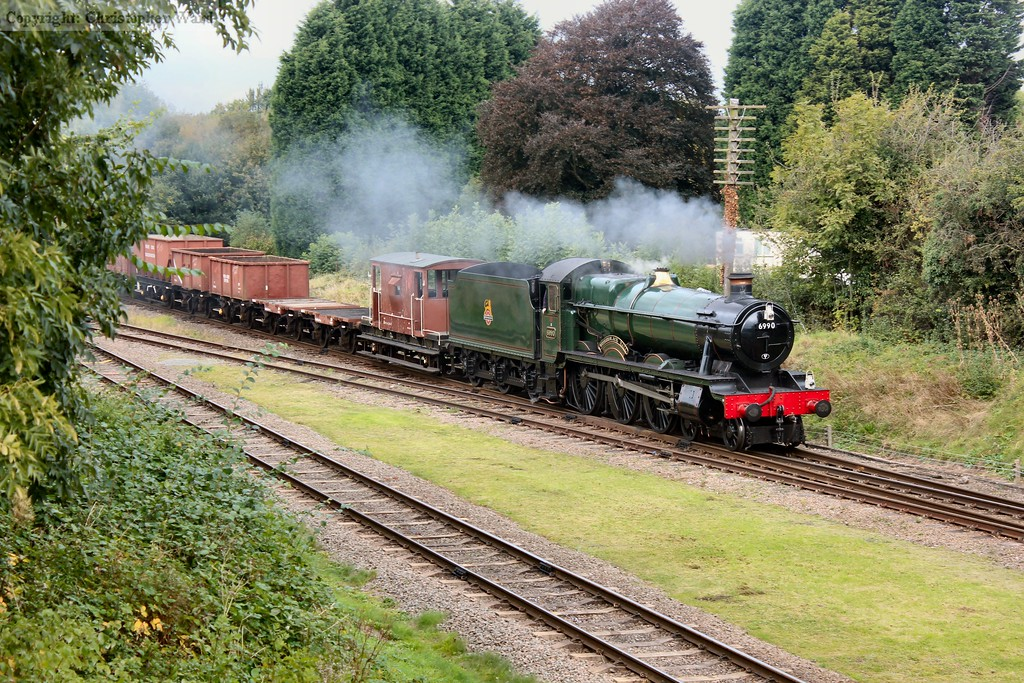 Witherslack Hall canters into view with a mixed goods working