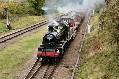 The Ivatt brings the mixed freight south