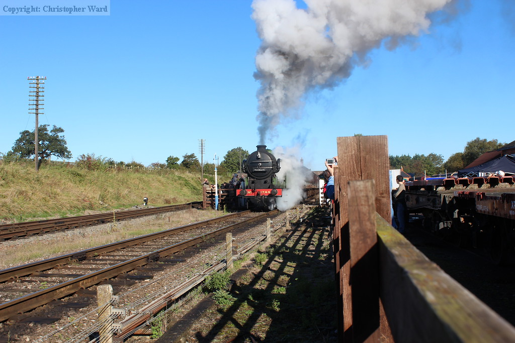 1744 gets away from the Quorn stop