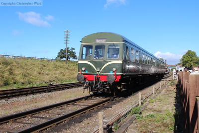 The DMU working pulls away from Quorn