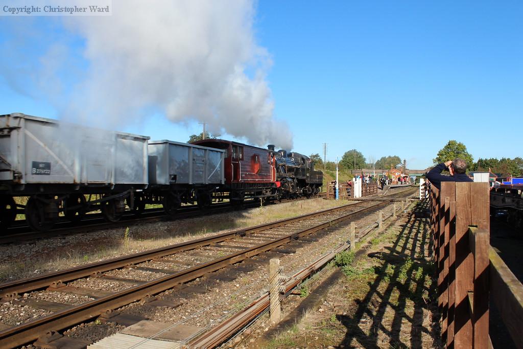 The Ivatt passes for Loughborough