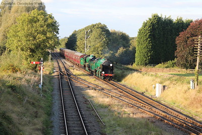The Southern duo approach Quorn