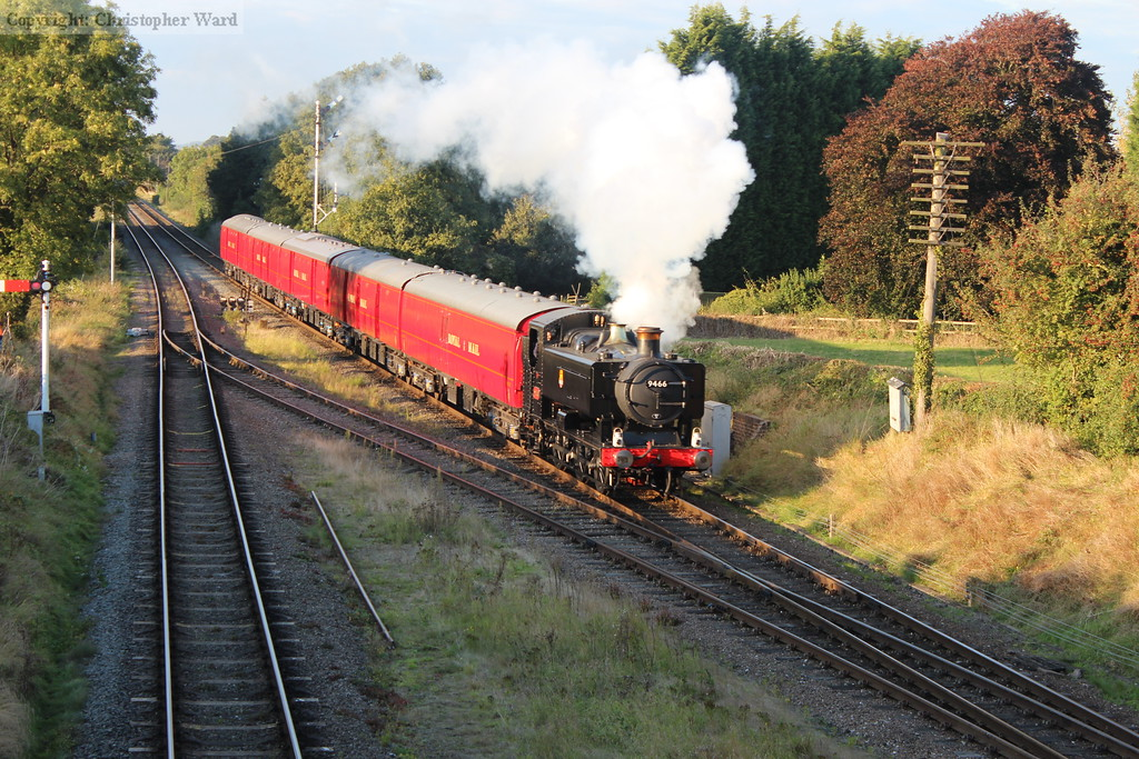 9466 approaches at pace with the TPO demonstration run