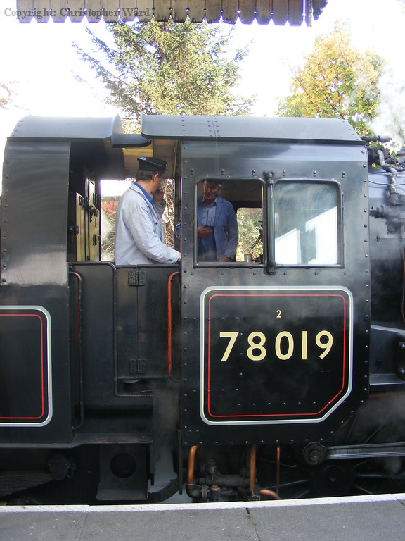 The cab of 78019