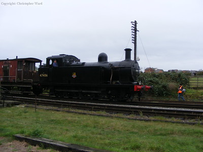 The Jinty approaches Quorn and Woodhouse station