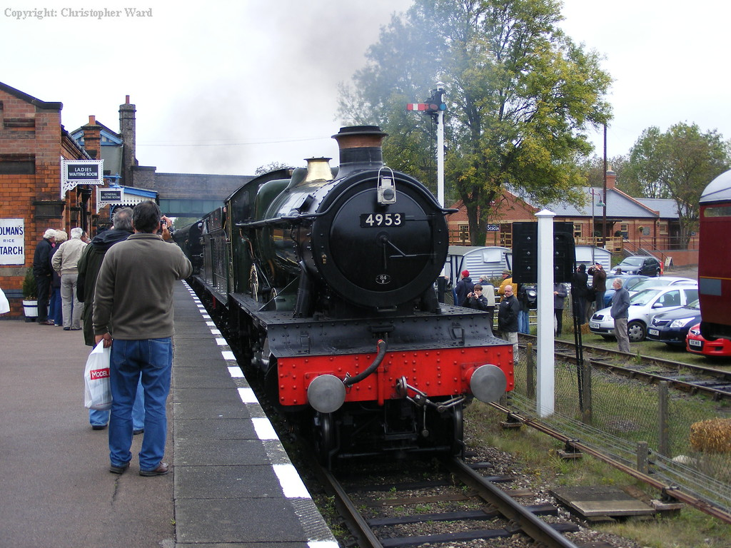 Pitchford Hall arrives with a service from Loughborough