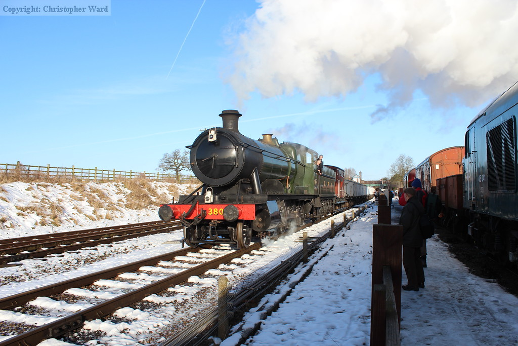 3803 in the snow
