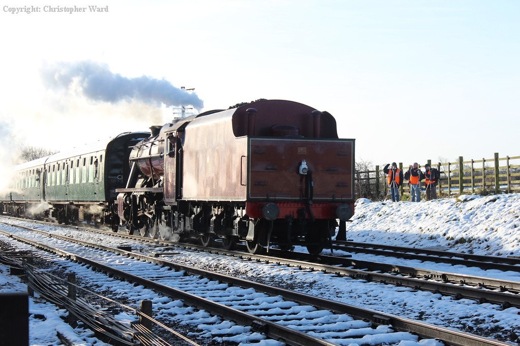 The 8F runs in with the shorter rake