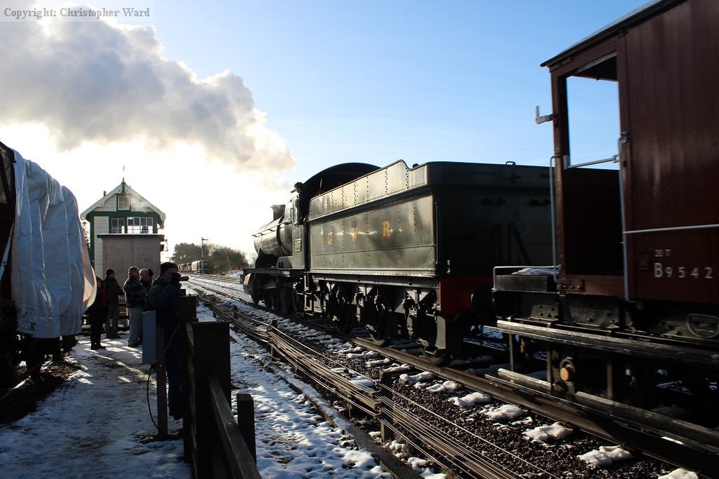 3803 pulls through Quorn headed for Swithland