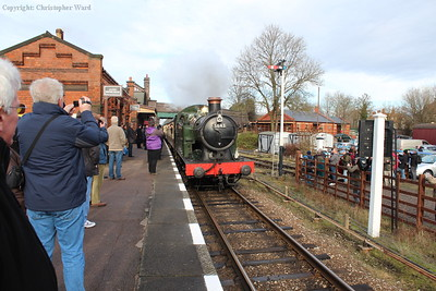 The GWR tank runs into Quorn