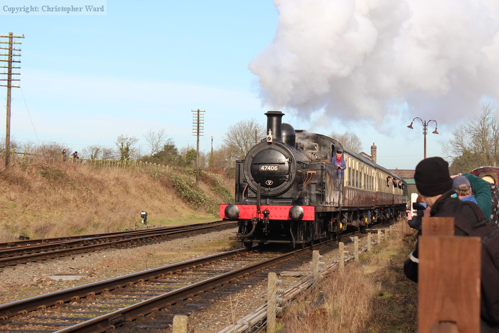 47406 pulls away from Quorn