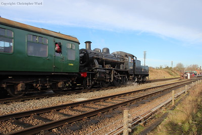 The Ivatt 2MT on a Loughborough service