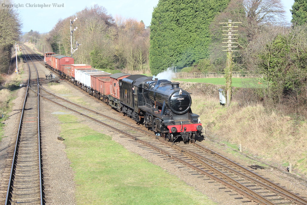 48624 on the mixed goods working, looking right at home