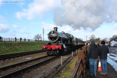 The Hall gets going again after pausing at Quorn for custom