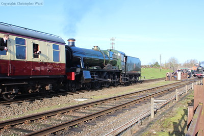 6990 passes with a Loughborough working, on her second gala appearance since overhaul